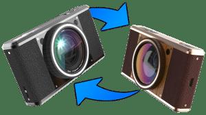 Zmiana kamery